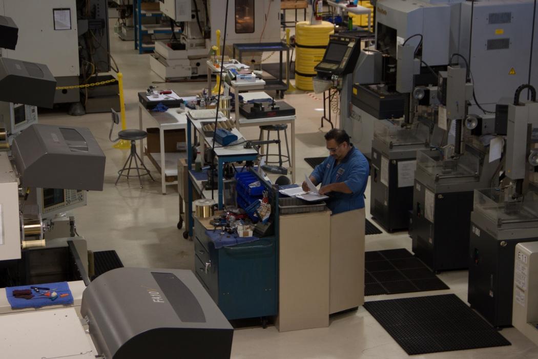 EDM manufacturing